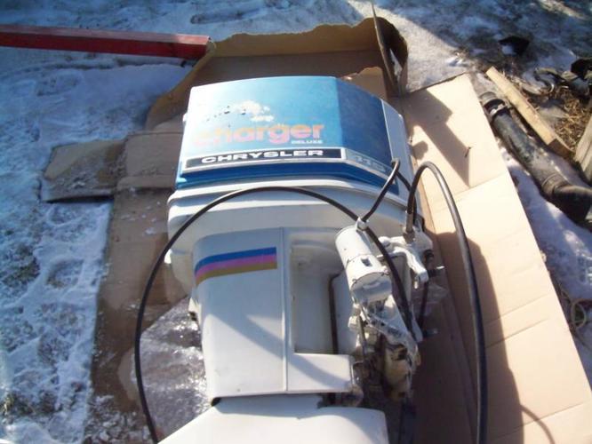 115 Chrysler outboard engine