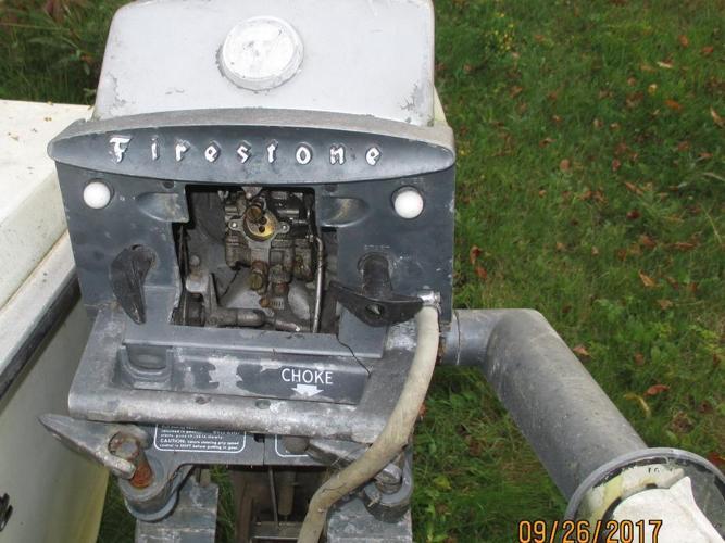 12 hp Firestone boat motor