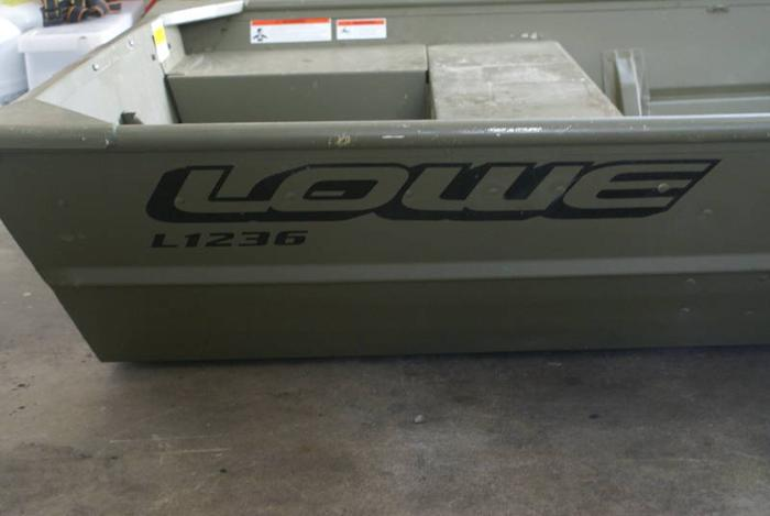 1236 Lowe Aluminum Jon Boat For Sale In Surrey British