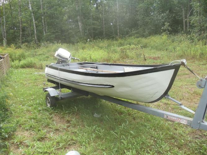 12ft boat.6 hp evinrude motor