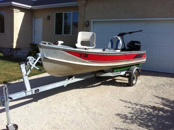 13 Ft Thornes Fishing Boat For Sale In Stonewall Manitoba