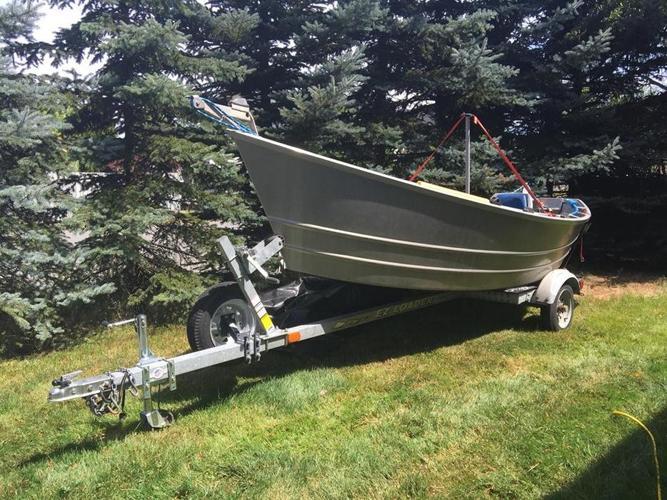 14 Foot Lifetimer Drift Boat Setup