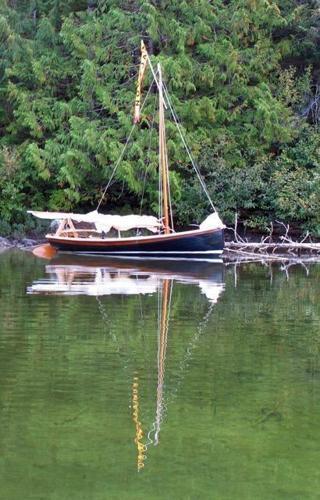 14 ft Lapstrake Sailing Daysailer