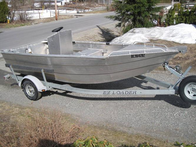 16 Aluminum Boat For Sale In Kamloops British Columbia