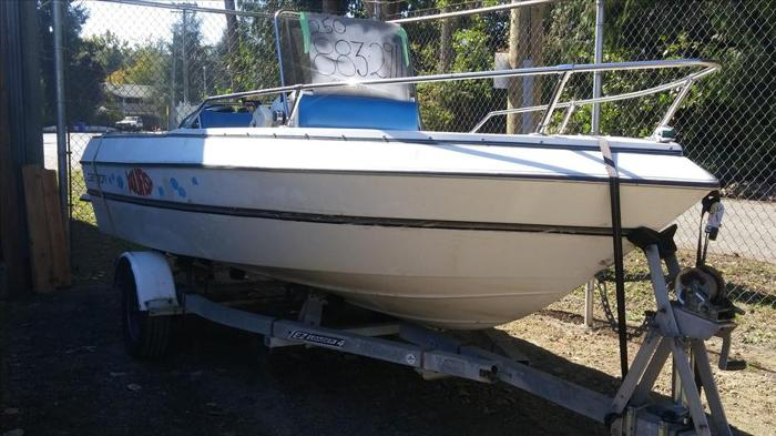 16.5 foot Campion fishing boat