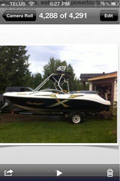 $16,500 2004 Sea-Doo challenger 20' wake boat. 250hp