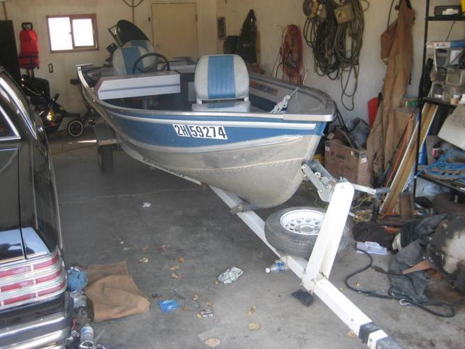 16ft misty river aluminum fishing boat for sale in Grande