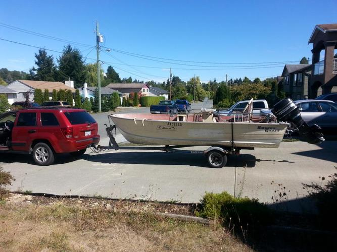 17 ft Alaskan with 50 hp Merc
