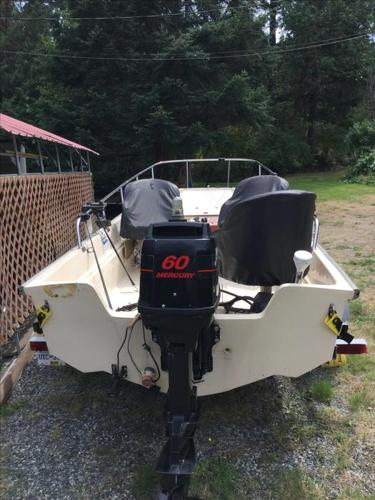 17' Whaler Fishing Machine and Trailer