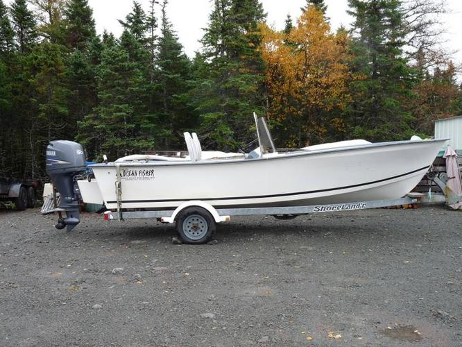 18 Ft Ocean Fisher,Boat,Motor,Trailer for sale in Dildo, Newfoundland - Used boats for you