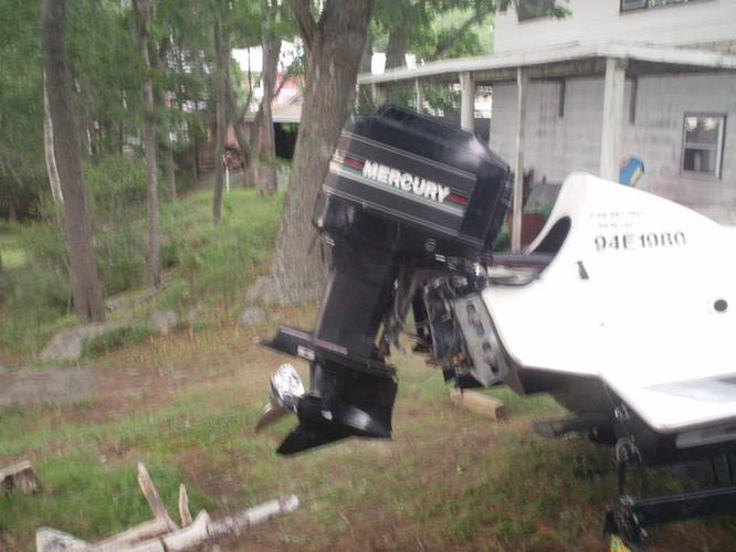 1989 mercury 200hp outboard motor for sale in brookside