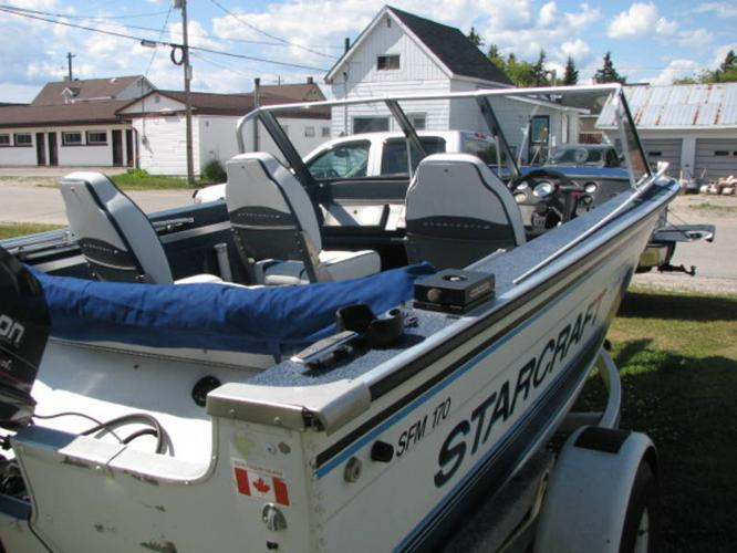 1993 17ft starcraft fishing boat for sale in chapleau for Starcraft fishing boats