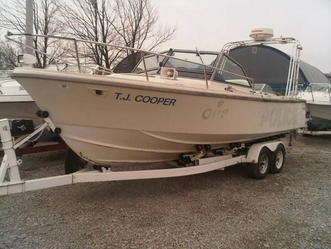 Ex Police Car Auctions >> **1995 LIMESTONE 24 FROM OPP TO BE SOLD SATURDAY BY ...