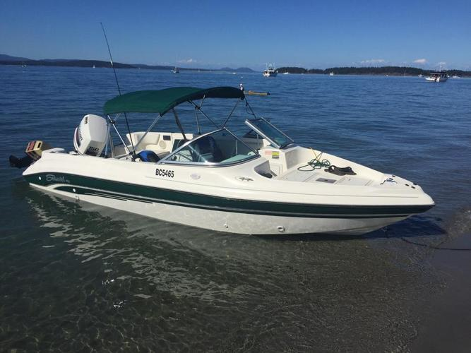 1998 Seaswirl 180 Fish and Ski