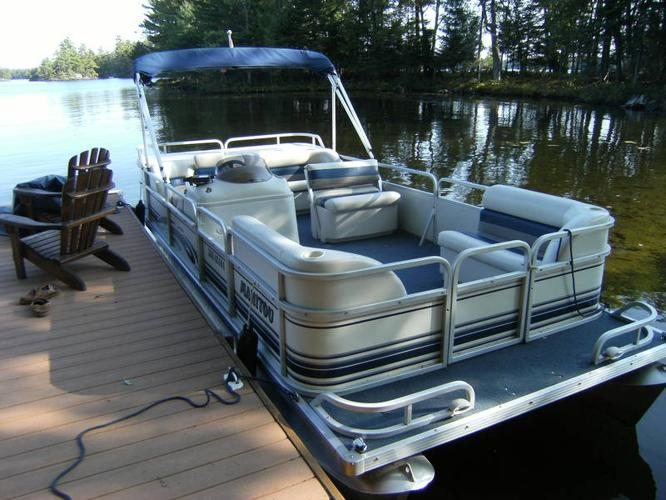 Manitou pontoon boats for sale in canada