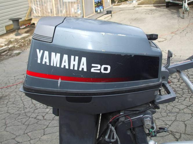 20 hp yamaha outboard missing lower unit for sale in