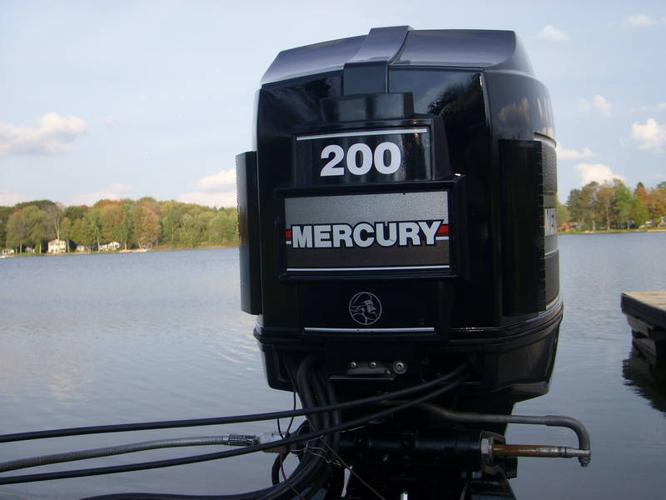 200 hp v6 oil injected mercury black max for sale in for Used 200 hp mercury outboard motors for sale