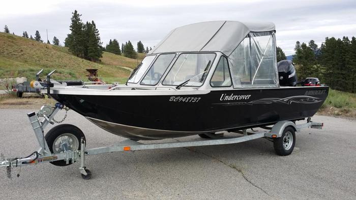 2006 Harbercraft 19 ft 1925 Adventurer Aluminum Fish Boat