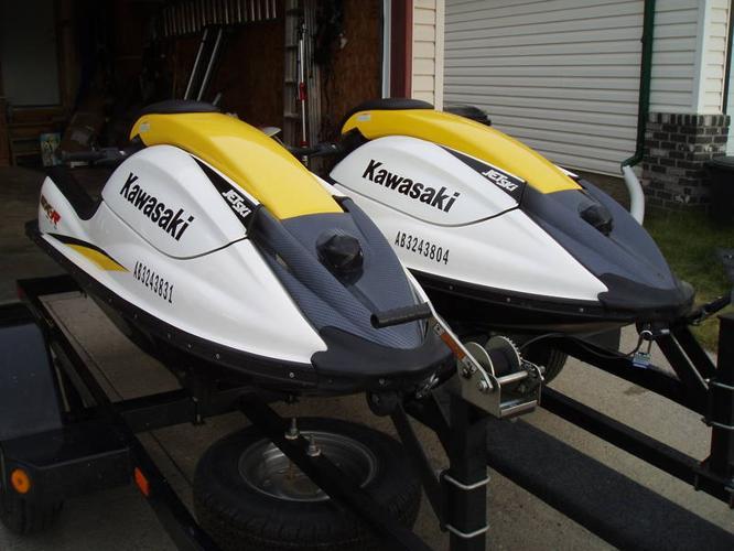 2006 KAWASAKI SXR 800