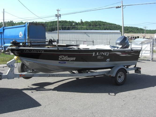 2008 Lund Pro Guide Tiller 1675 with 90 Yamaha 60th Anniversary for sale in Espanola, Ontario ...