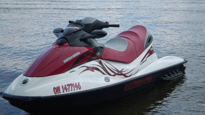 2008 seadoo 155 hp gti se less than 25 hours for sale in bancroft ontario used boats for you. Black Bedroom Furniture Sets. Home Design Ideas