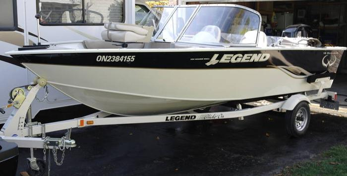 2009 16 Legend Xcalibur For Sale In Ayr Ontario Used Boats For You
