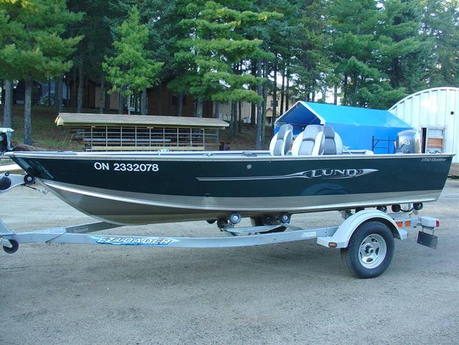 2010 Lund Outfitter 1750 With 50 Hp Yamaha 4 Stroke For