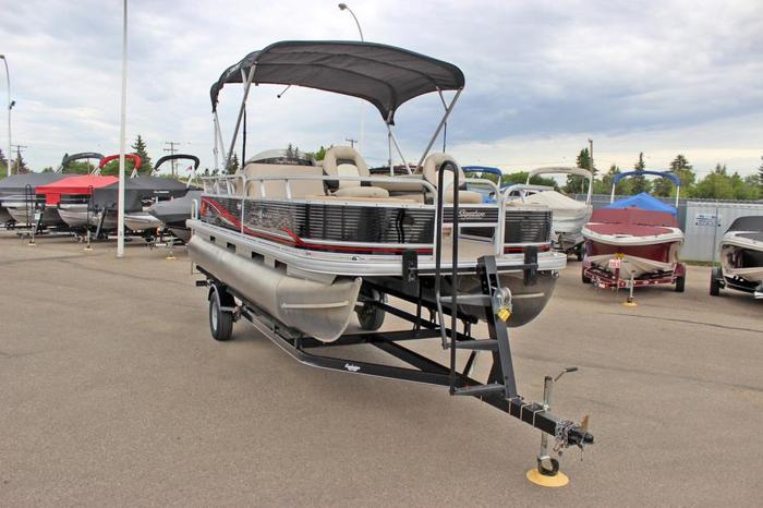 2013 Fishin' Barge 22 DLX