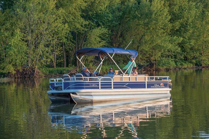 2018  Fishin' Barge 22 DLX