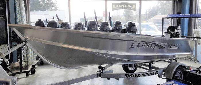 2018 Lund A12 Boat Package