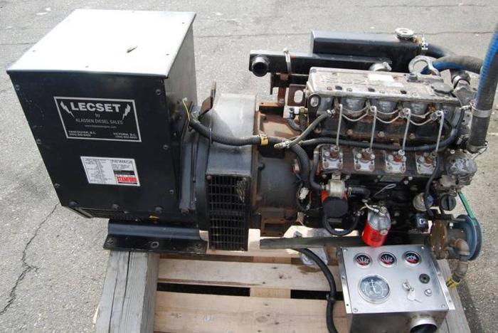 20kw generator set isuzu diesel engine stamford for Generator motor for sale