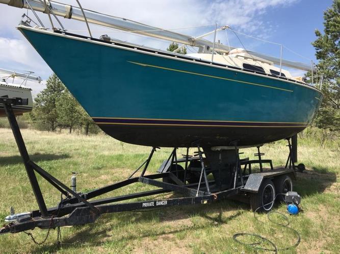 26 foot Mirage Sailboat