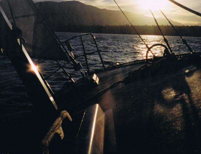 "30"" Fraser Sailboat - Sidney BC"