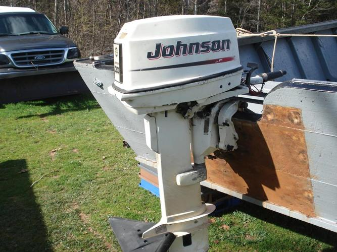 30hp Johnson outboard motor