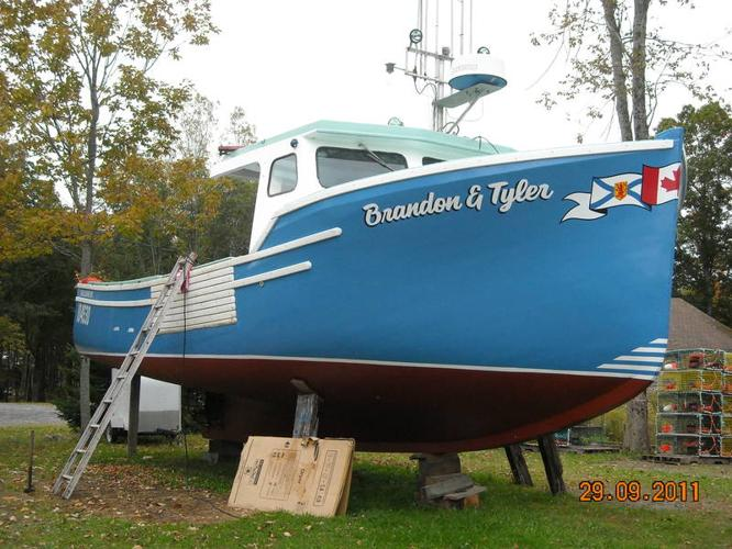 39 foot lobster boat for sale in Port Mouton, Nova Scotia - Used boats for you