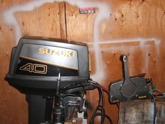 40 h p suzuki outboard for sale in louisbourg nova scotia for Suzuki 40 hp outboard motor