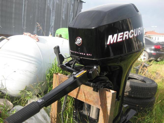 40 hp merc  four stroke tiller