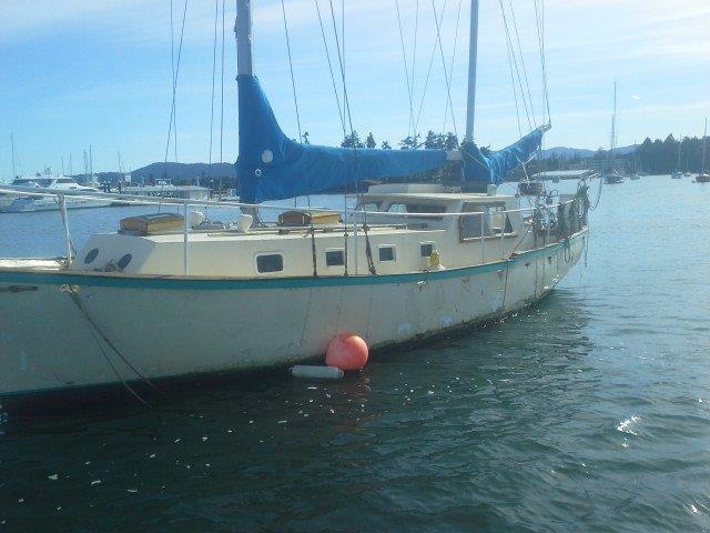 42' C-Falcon Ketch stolen (Tsehum Harbour)