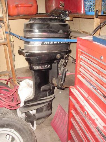 50hp Mercury Outboard Motor With Throttle Control For Sale