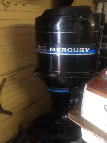 90hp Mercury w/controls