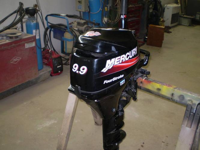 9.9 4 stroke merc