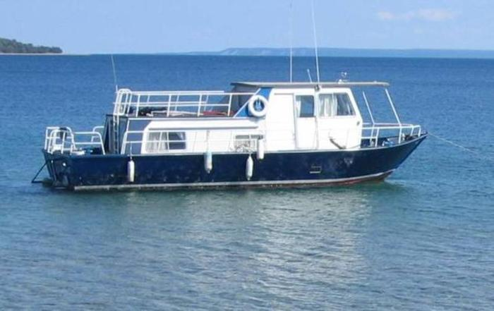 Alcan Aluminum houseboat for sale in Owen Sound, Ontario - Used boats ...