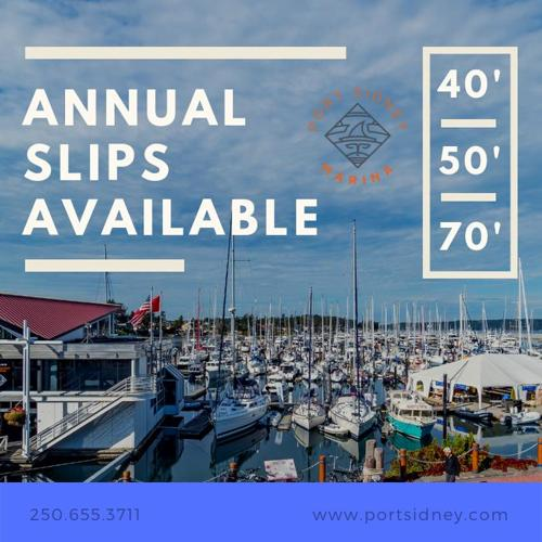 ANNUAL MOORAGE AVAILABLE