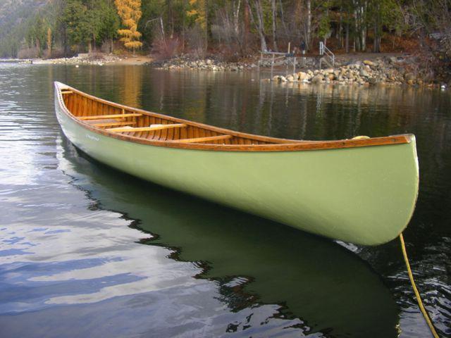 Chestnut Cronje Canoe