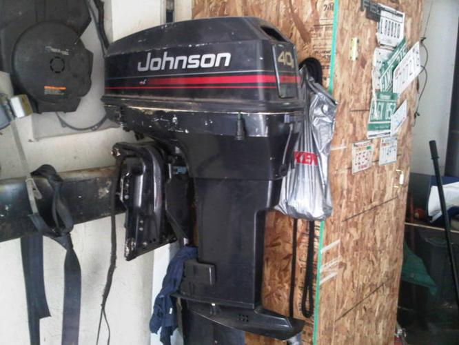 Evinrude outboard 40hp for sale in mahone bay nova scotia for Evinrude 40 hp outboard motor for sale