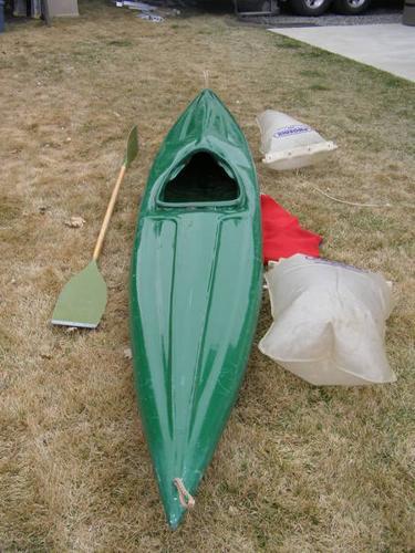 Fiberglass/Kevlar Kayak for sale