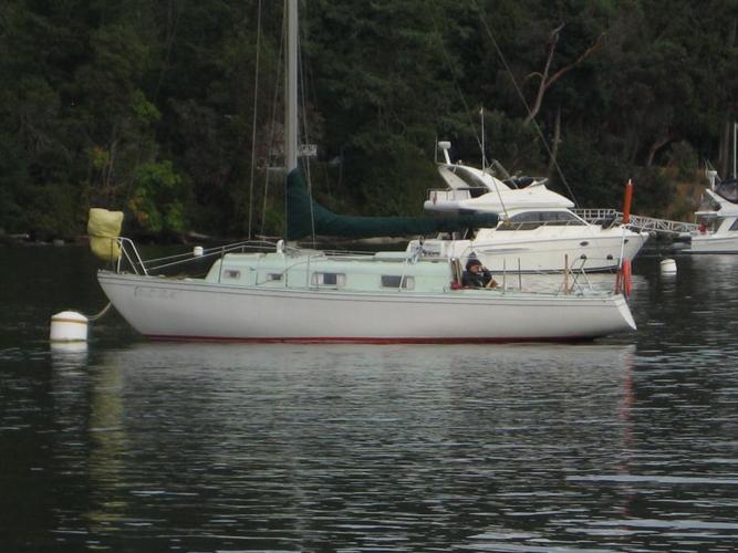 FREE: 1974 Hughs 29 Sail Boat