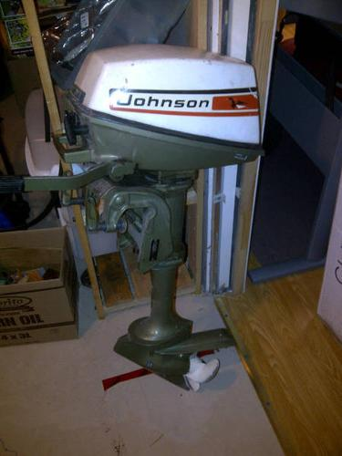 Johnson outboard seahorse 4 hp for sale in welland for 4 horse boat motor