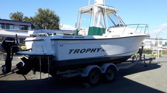 Just in 2008-23 Trophy Hard Top fully loaded - Low Hours M&P Boat Centre