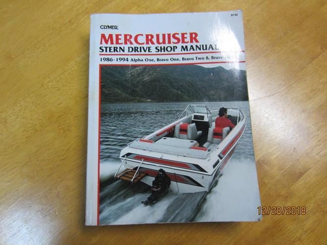 Mercruiser shop manual